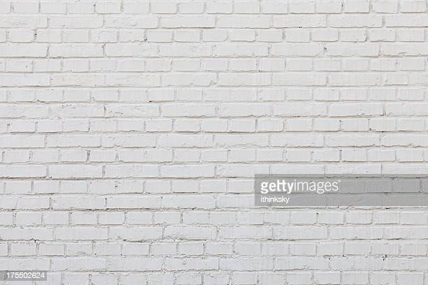 Pared de ladrillo blanco