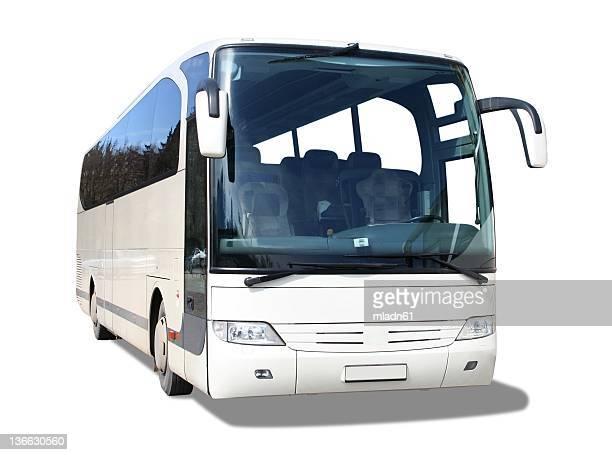 bus blanc
