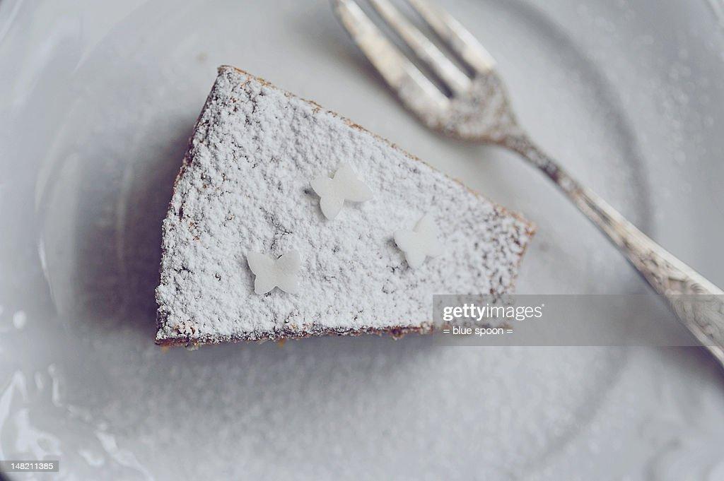 White cake : Stock Photo