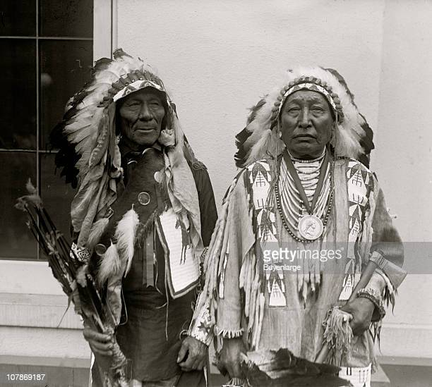 White Calf Iron Crow Sioux Indians 1925