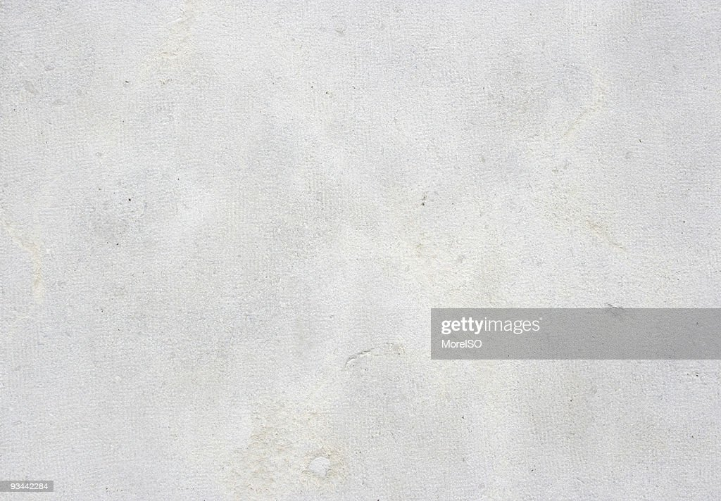 White Cement Wall Texture Background Pattern