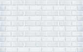 White ceramic tiles texture closeup