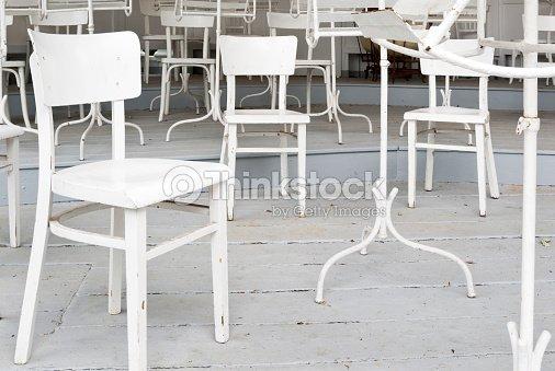 Weißer Sessel Auf Einem Podest Stock-Foto | Thinkstock