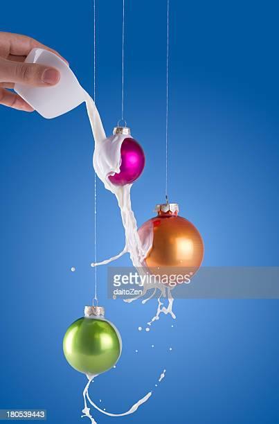 White Christmas Splash
