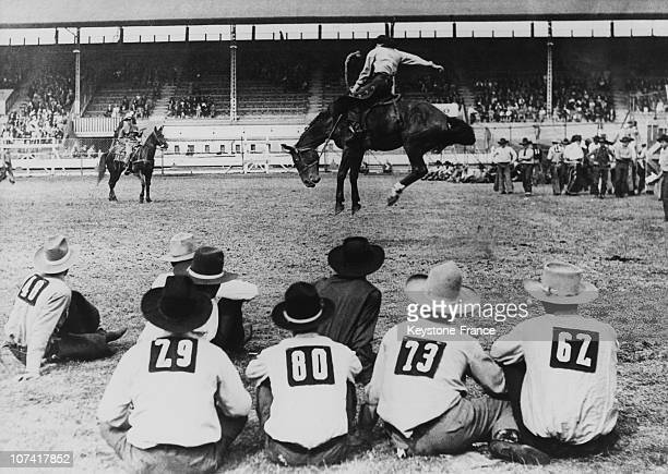 White City Rodeo In London During Fifties