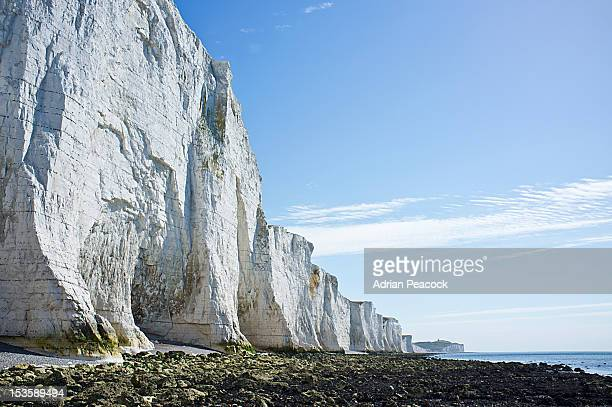 White cliffs, English channel