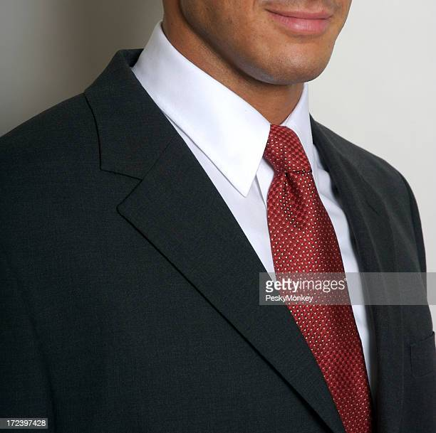 White Collar Worker Businessman Portrait Close-Up