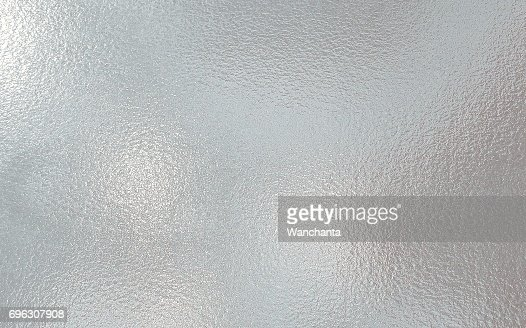 White color frosted Glass texture background : Stock Photo