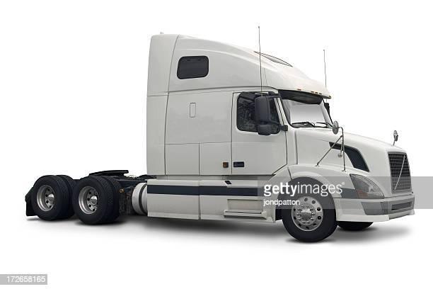 White kommerzielle truck
