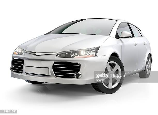 White Autokompaktklasse