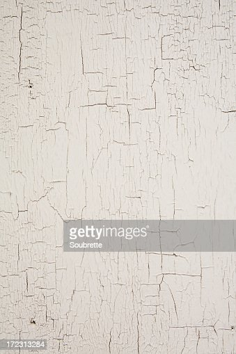 White crackled/chipping paint background