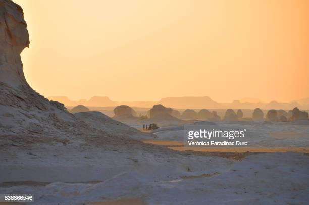 White desert safari, Egypt