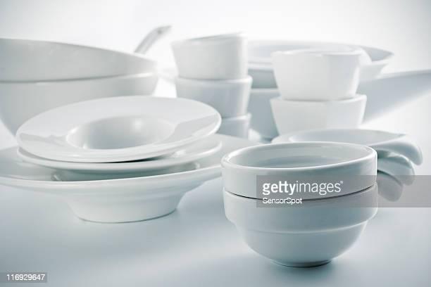 White Geschirr