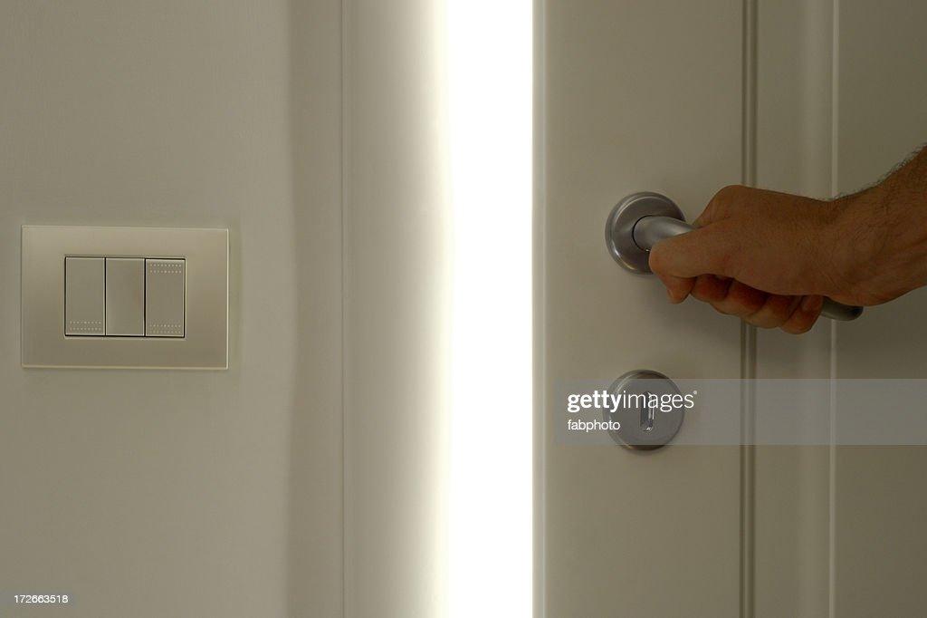 White Door Opening 4