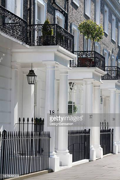 White Edwardian Houses, West London