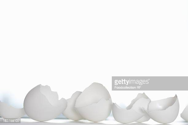 White egg shells