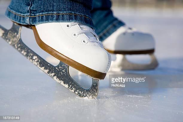 Blanco Figura patines