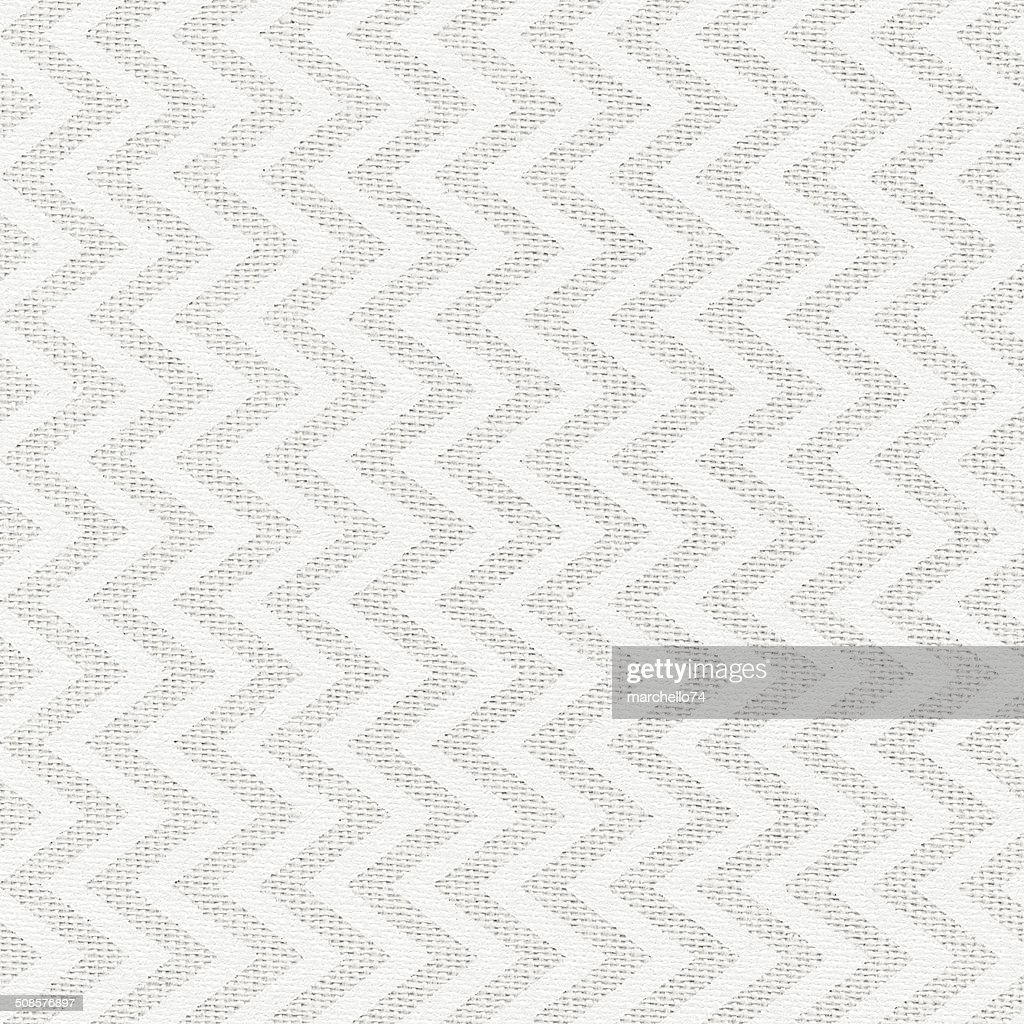 White foggy linen texture with painted pattern : Stock Photo