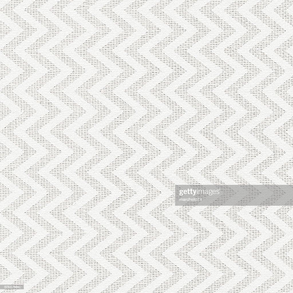 Nebbia di tessuto di lino bianco con motivo dipinto : Foto stock