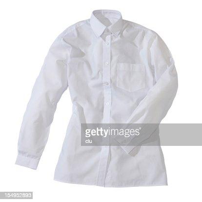White formal female shirt