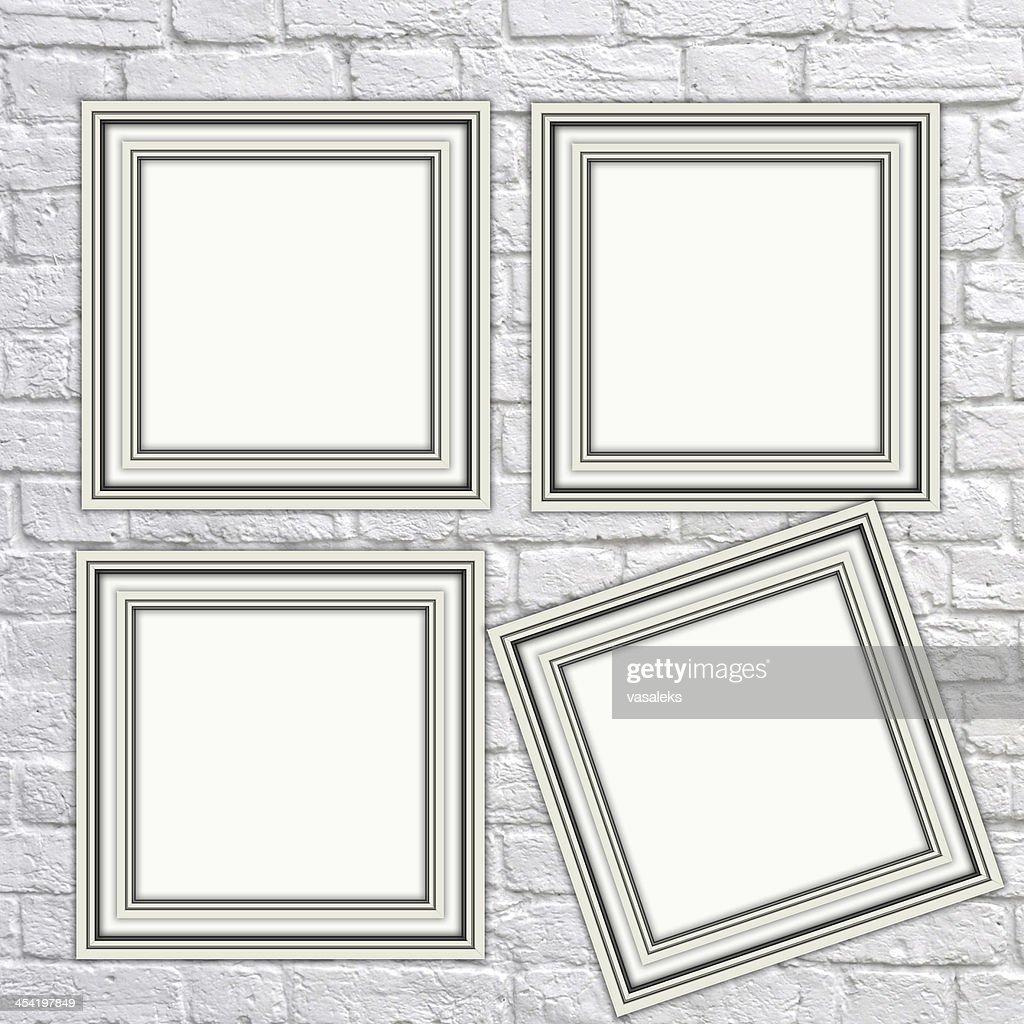 White frame : Stock Photo
