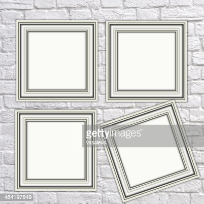 White frame : Stock Photo