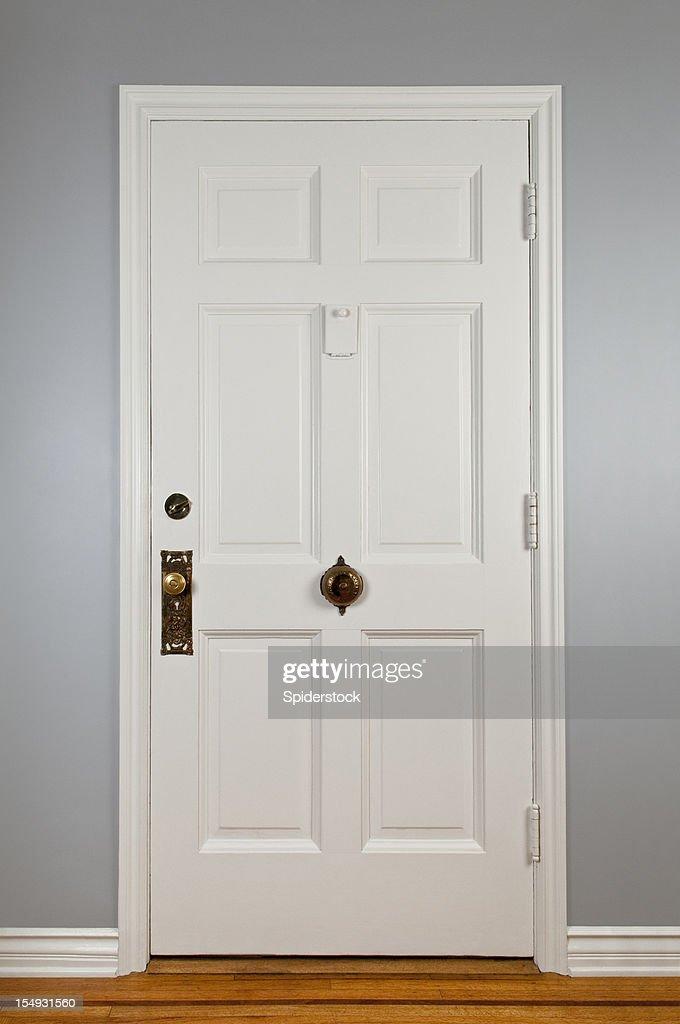 Blanc porte d'entrée : Photo