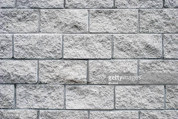 White granite brick wall texture