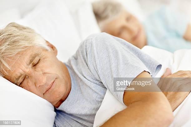 Schlafen im Bett