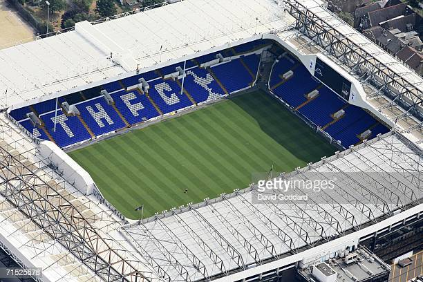 White Hart Lane football staudim home to Tottenham Hotspur on July 25 2006 in London England