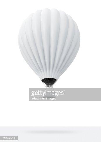 White Hot-Air Balloon