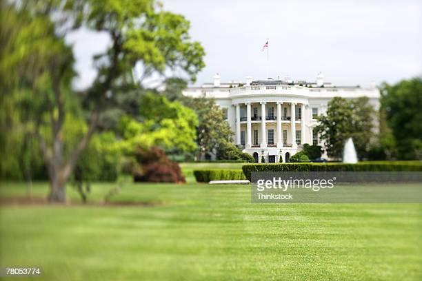 White House and lawn, Washington, DC