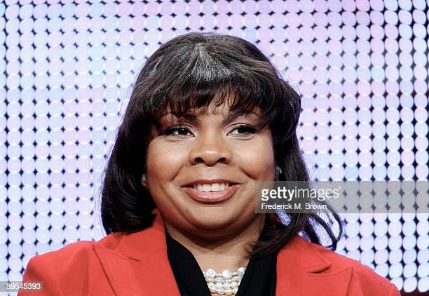 White House Correspondant April Ryan of American Urban Radio Networks speaks during the Cable portion of the 2009 Summer Television Critics...