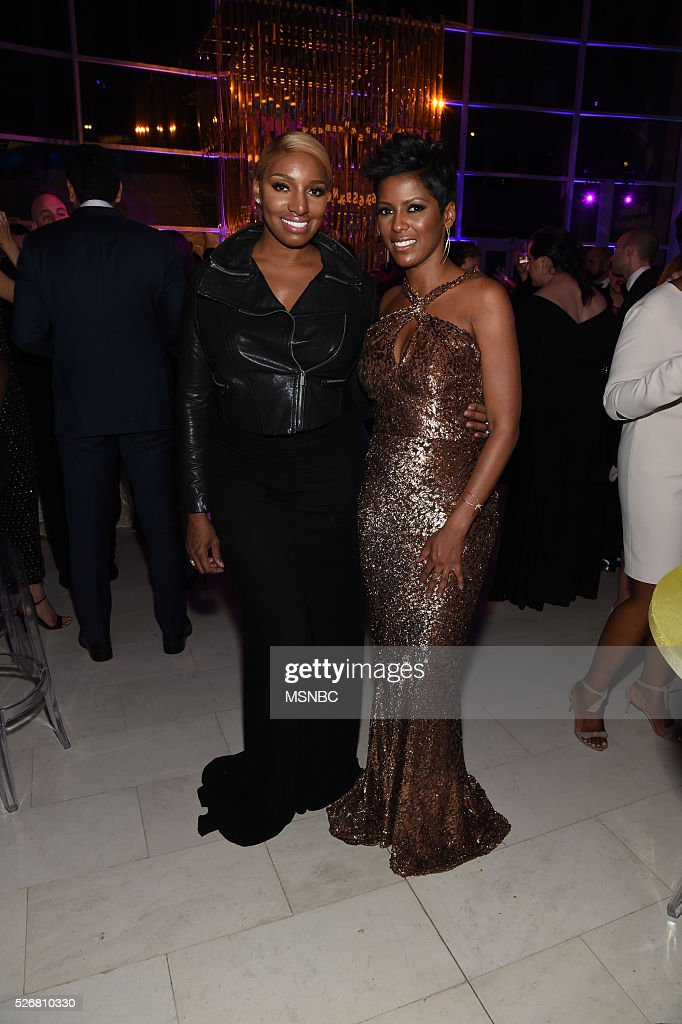 EVENTS -- White House Correspondents' Dinner MSNBC After-Party -- Pictured: (l-r) NeNe Leakes and Tamron Hall --