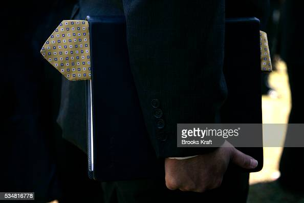 White House Deputy Chief of Staff Joe Hagin removed his tie while President George W Bush and and Brazilian President Luiz Inacio Lula da Silva...