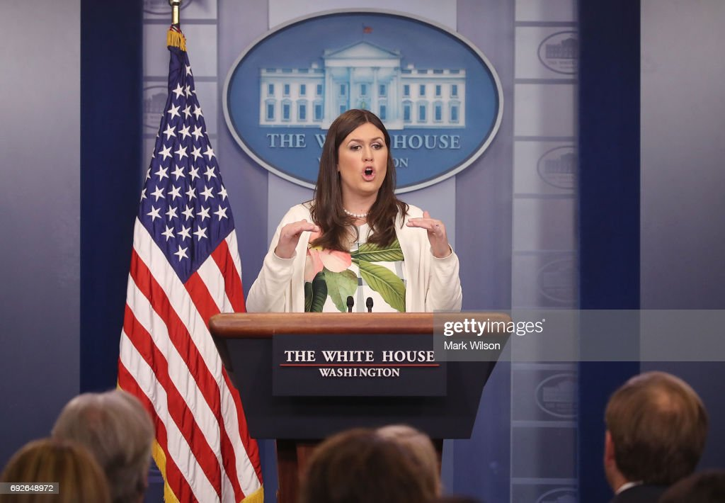 Deputy Press Secretary Sarah Sanders Holds Daily White House Press Briefing
