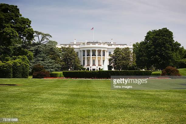 White House landscape Washington DC USA