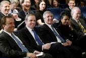 White House Press Secretary Scott McLellan Communication Director Dan Bartlett Chief of Staff Andrew Card National Security Advisor Condoleezza Rice...