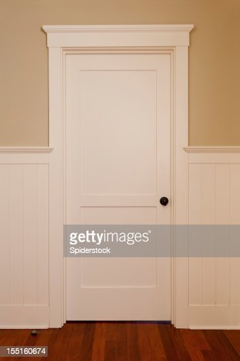 White Interior Door