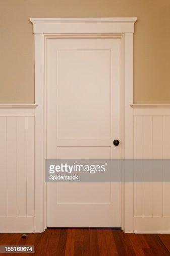 Blanc intérieur de l'hôtel