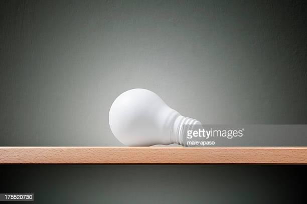 White Glühbirne