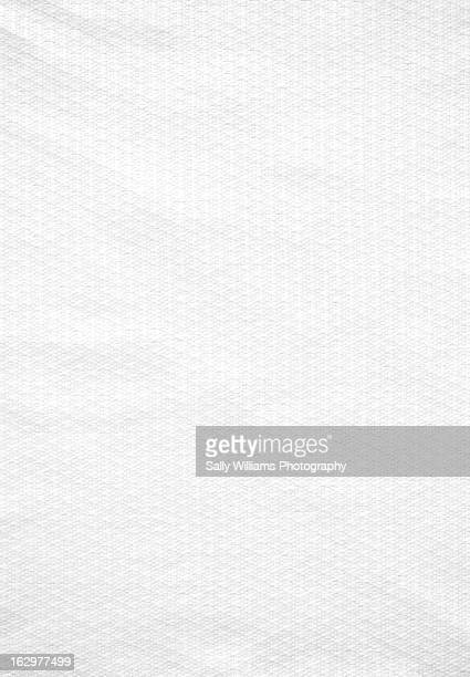 A white linen background