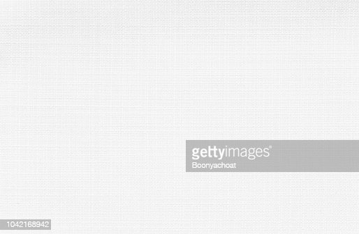 White linen fabric : Stock Photo