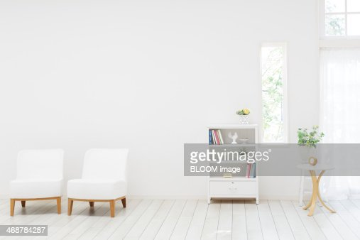 white living room stock photo | getty images