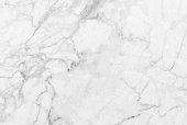 White marble texture with delicate veins (Natural pattern for backdrop or background, Can also be used create surface effect to architectural slab, ceramic floor and wall tiles)