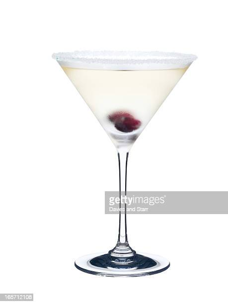 White Martini in Glass