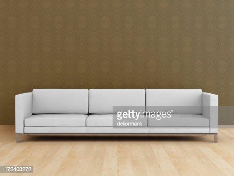 White modern sofa (XXL)