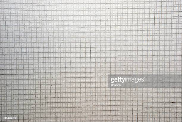 White mosaic background texture
