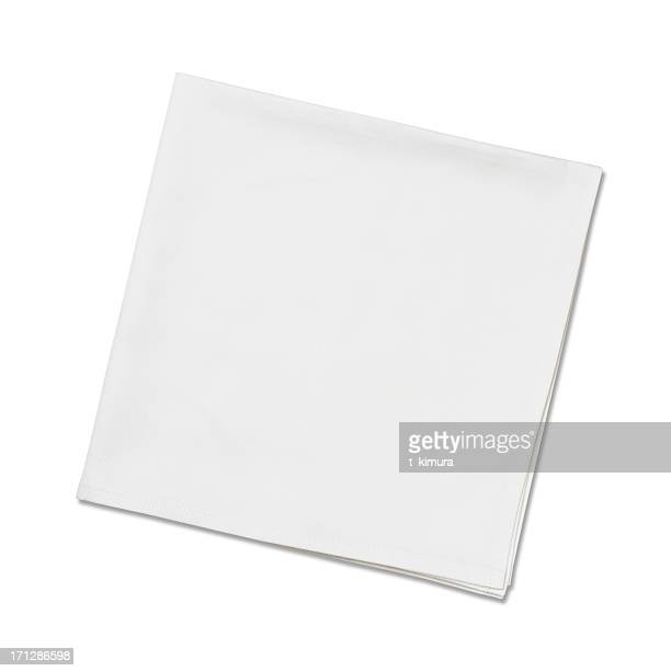 Serviettes de table blanc
