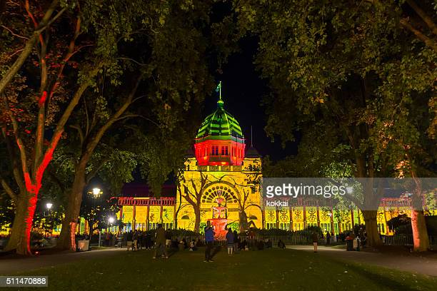 White Night Melbourne - Royal Exhibition Building